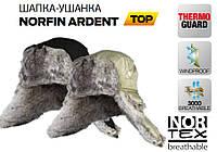 Зимняя шапка ушанка NORFIN черная, размер ХL