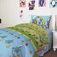 Детское постельное белье Теп - Смурфики бязь подростковое