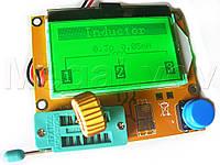 Мультиметр тестер полупроводников  ESR  L C R pnp npn LCR с большим графическим экраном, в сборе