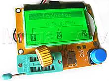 Тестер радиокомпонентов, полупроводниковых элементов, транзисторов,  ESR / L / C / R / pnp / npn ..., в сборе