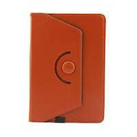 Чехол для 7 дюймового  планшета с поворотом на 360 градусов – коричневый, фото 1