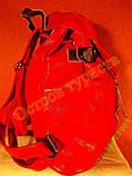 Рюкзак городской женский кожзам-оригинальный красный, фото 2