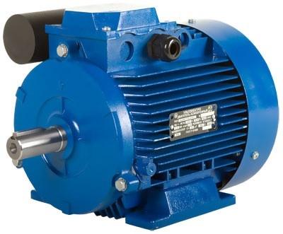 Однофазный электродвигатель АИРЕ 80 В4, АИРЕ80в4, АИРЕ 80В4 (1,10 кВт/1500 об/мин)