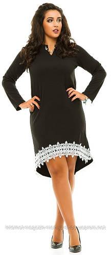 Платье женское полубатал кружево