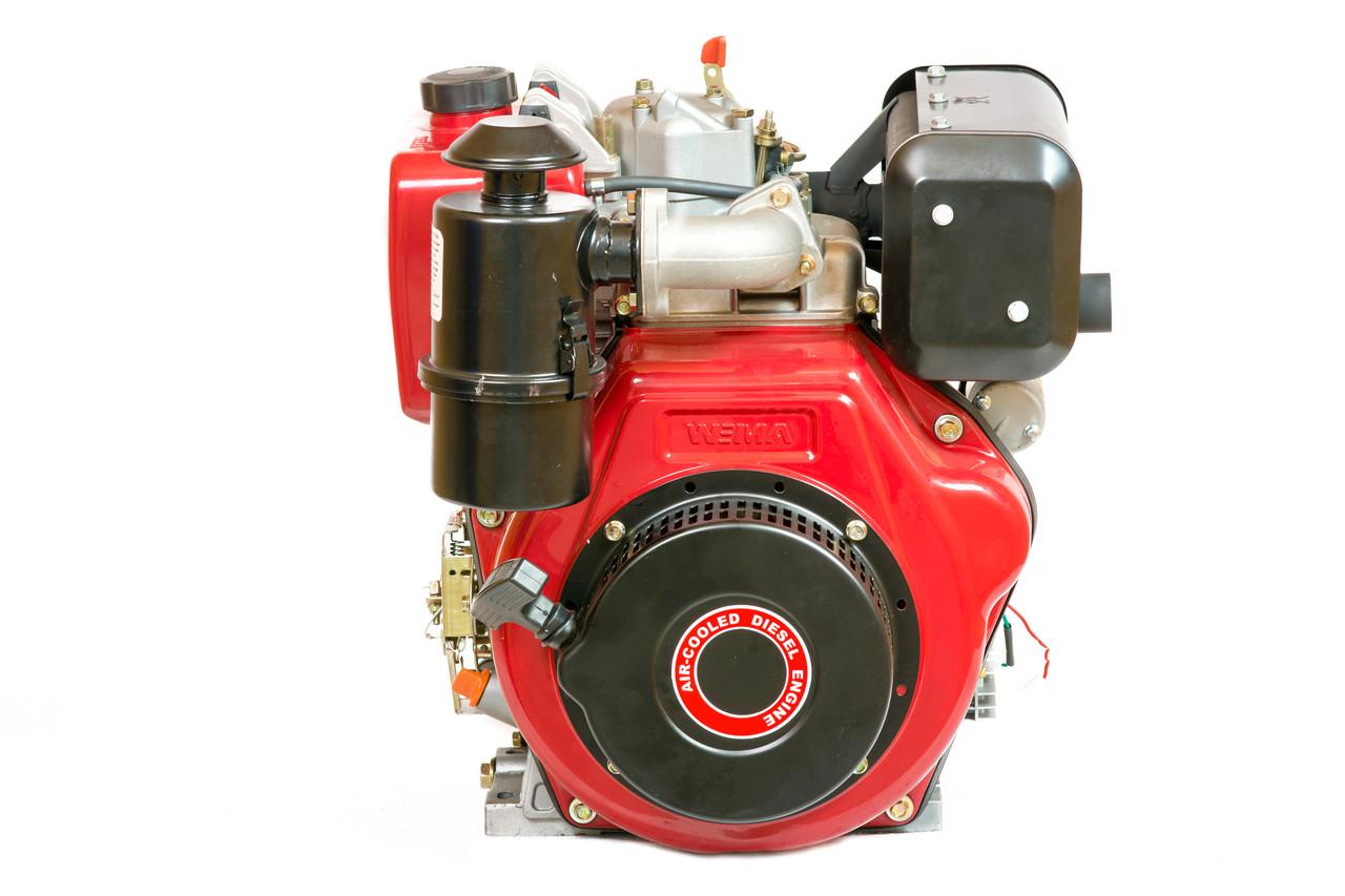 Двигатель дизельный Weima WM186FBE (вал под шлицы, съемный цилиндр)