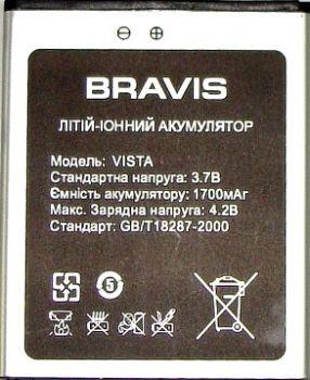 Аккумулятор к телефону Bravis Vista