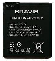 Аккумулятор к телефону Bravis Solo