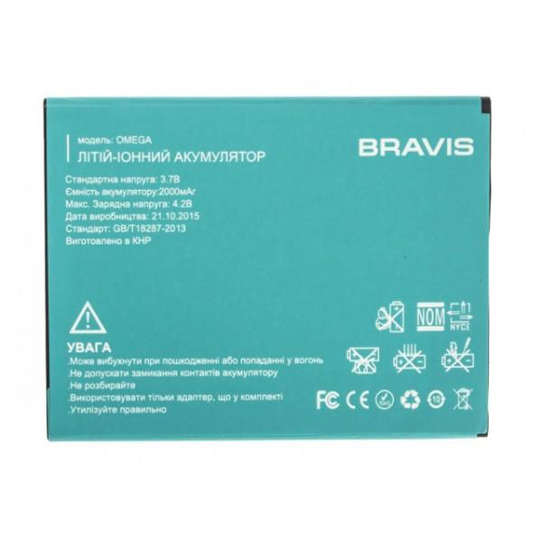 Аккумулятор к телефону Bravis Omega