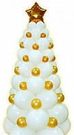 Новогодняя елочка из шаров