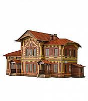 Картонная модель Железнодорожная станция Можайская 309 УмБум