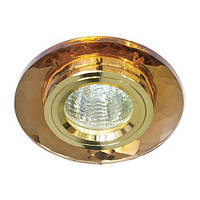 Светильник точечный Feron 8050-2 MR16 коричневый золото