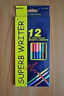 Карандаши цветные Superb Writer 24 цвета