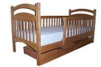 """Кровать деревянная """"Мишка 1 Люкс"""""""