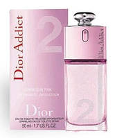 Винтаж Christian Dior Addict 2 Sparkle in Pink edt Тестер 50 мл