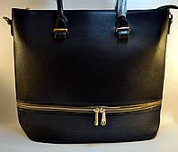 Черная стильная женская сумка Callantry G 7272