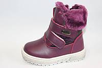 Детская зимняя обувь оптом .Сапоги для девочек от фирмы-Lilin Shoes  разм (с 22-по 27)