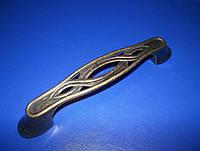 Ручка мебельная К7447- 96мм ст. бронза