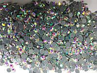 Стразы ДМС-ПРЕМИУМ ss30 Crystal AB(6-6,2мм)горячей фиксации 288шт.