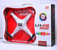 Огромный квадрокоптер без камеры LH-X6 белый