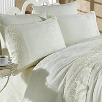 Комплект постельного белья Prima Casa Damask Beyaz 200х220 см R5354-06