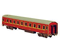 Картонная модель Спальный вагон Красная Стрела 295-1 УмБум
