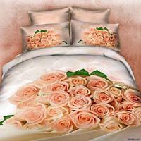 Комплект постельного белья Home Textile Love You Надежда 160х220 см STP569