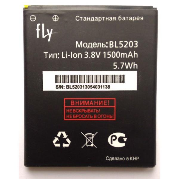 Аккумулятор к телефону  Fly BL-5203
