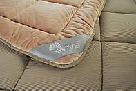 Одеяло  Arya 195х215  Pure Line Sophie Brown микроплюш, фото 1