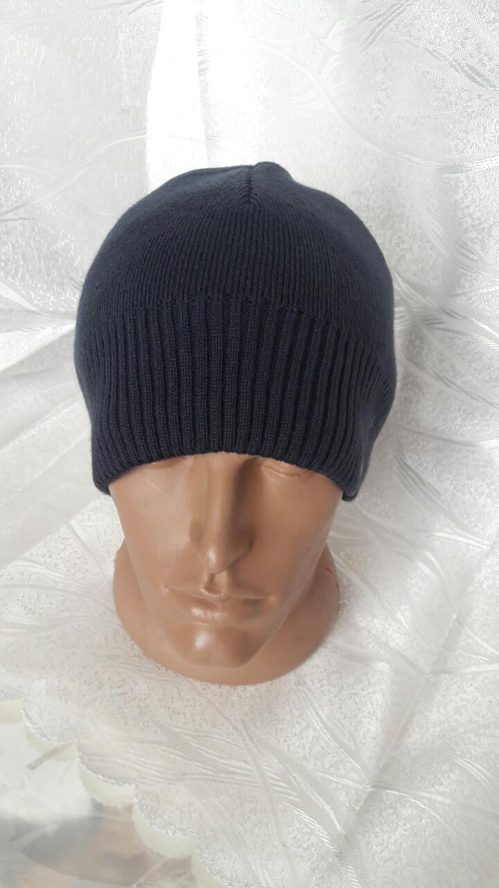 Молодежная мужская шапка на флисе VIVO