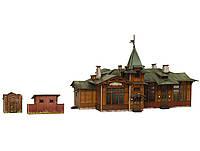 Картонная модель Вокзал Куженкино 317 УмБум