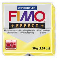Полимерная глина Fimo Effect Желтый прозрачный 56 гр