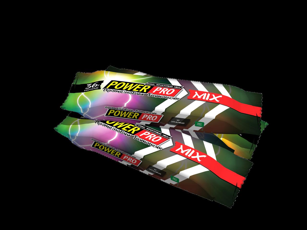 Power Pro Батончик 36% йогурт-микс 20х60 г