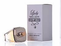 Тестер. Женская туалетная вода Lady Million Eau My Gold Paco Rabanne (леди миллион май голд) 80 мл.