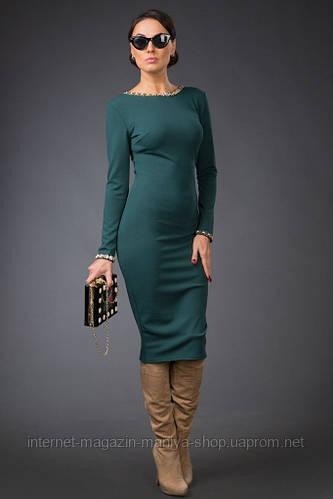 Платье женское змейка по спине