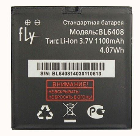 Аккумулятор к телефону  Fly BL-6408