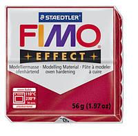 Полимерная глина Fimo Effect Металлик Рубин 56 гр