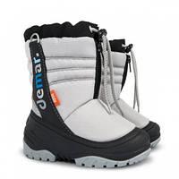 Зимові чобітки (зимние дутики) Demar Teddy сірі