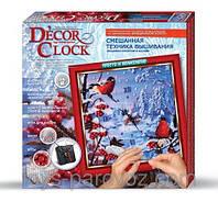 "Набор для творчества Danko Toys ""Часы"" Decor Clock."
