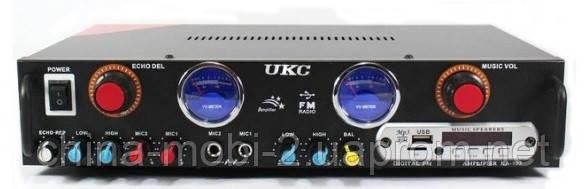 Профессиональный стерео усилитель AMP UKC KA-105F c Karaoke