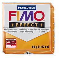 Полимерная глина Fimo Effect Оранжевый Прозрачный 56 гр