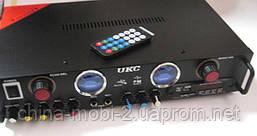 Профессиональный стерео усилитель AMP UKC KA-105F c Karaoke, фото 3