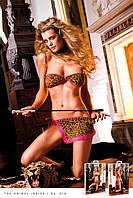 Комплект Leopard Mini Skirt Set, S/L
