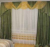 "Ламбрекен со шторами для гостиной ""№231"", фото 1"