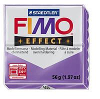 Полимерная глина Fimo Effect Прозрачный Фиолетовый 56 гр