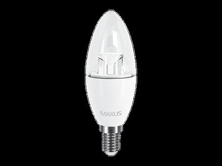 LED лампа C37 6W яркий свет 220V E14 (1-LED-532) (NEW), фото 2