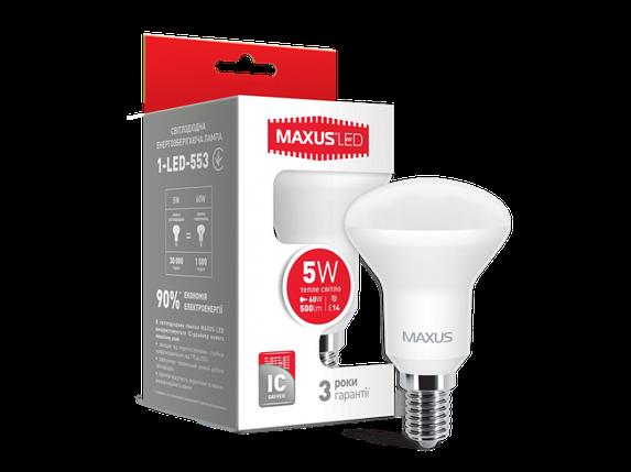 LED лампа R50 5W мягкий свет 220V E14 (1-LED-553) (NEW), фото 2