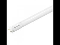 LED лампа GLOBAL T8 (труба), 8W, 60 см, яркий свет, G13, 220V (NEW-1)