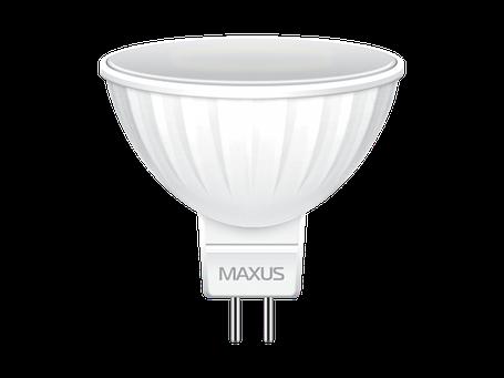 LED лампа MAXUS MR16 8W мягкий свет 220V GU5.3 (1-LED-515) (NEW), фото 2