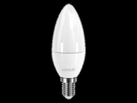LED лампа MAXUS C37 CL-F 4W яркий свет 220V E14 (1-LED-5312) (NEW), фото 2