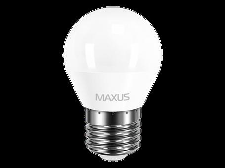 LED лампа MAXUS G45 F 4W яркий свет 220V E27 (1-LED-5410) (NEW), фото 2